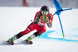 PYEONGCHANG-GUN, SOUTH KOREA - FEBRUARY 18: Phil Brown of Canada competes during the Alpine Skiing Men's Giant Slalom at Yongpyong Alpine Centre on February 18, 2018 in Pyeongchang-gun, South Korea.Photo by Ronald Hoogendoorn / Sportida