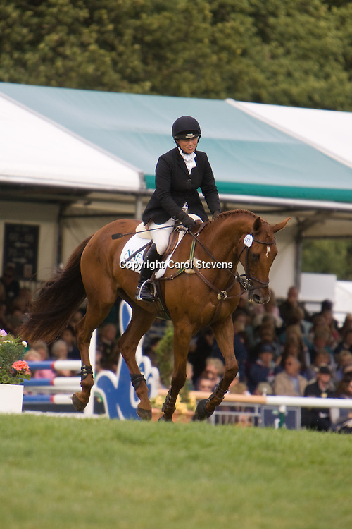 Rosie Thomas at Burghley Horse Trials 2009