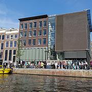 NLD/Amsterdam/20120812 - Varen door de Amsterdamse grachten, Anna Frank huis