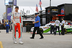 November 16, 2018 - Homestead, Florida, U.S. - Chase Briscoe (60) hangs out in the garage during practice for the Ford 300 at Homestead-Miami Speedway in Homestead, Florida. (Credit Image: © Chris Owens Asp Inc/ASP)