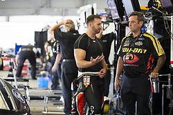 July 21, 2018 - Loudon, New Hampshire, United States of America - Matt DiBenedetto (32) gets ready to practice for the Foxwoods Resort Casino 301 at New Hampshire Motor Speedway in Loudon, New Hampshire. (Credit Image: © Stephen A. Arce/ASP via ZUMA Wire)