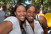 18356The Freshman Convocation 9/03/2007...Jessie Hill(left), And LaTasha Moore