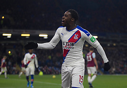 Jeffrey Schlupp of Crystal Palace (C) celebrates scoring his sides second goal - Mandatory by-line: Jack Phillips/JMP - 30/11/2019 - FOOTBALL - Turf Moor - Burnley, England - Burnley v Crystal Palace - English Premier League