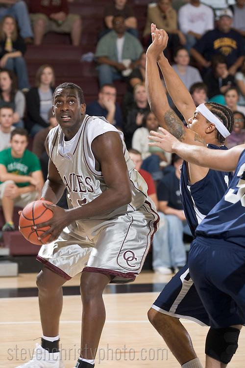 OC Men's Basketball vs Hillsdale Baptist.November 12, 2007