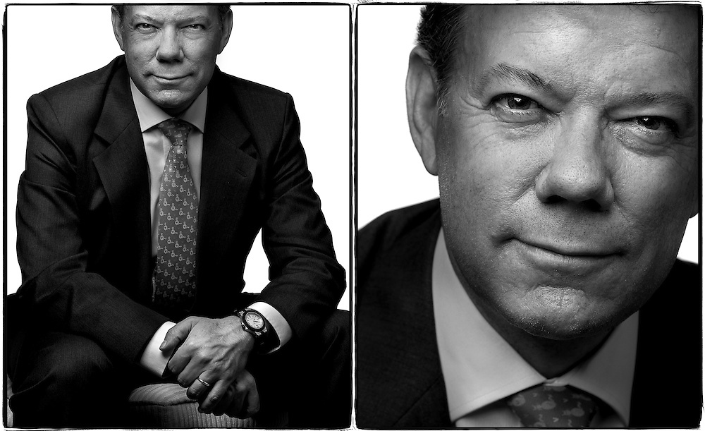 Colombian Defense Minister Juan Manuel Santos- <br />