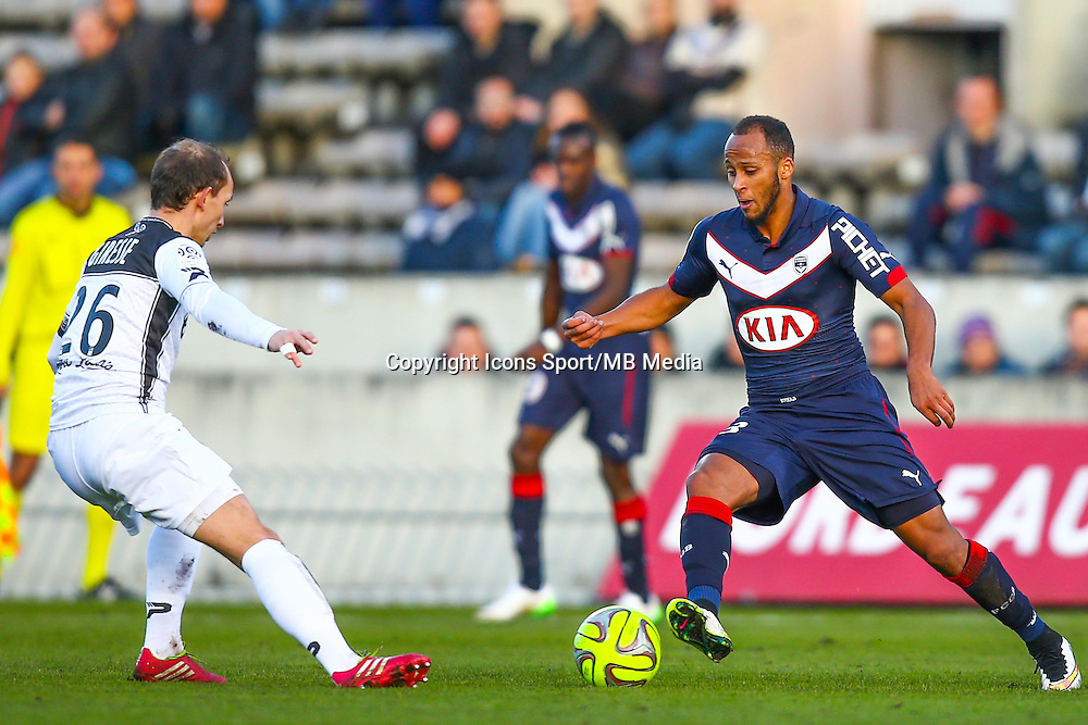Thomas Toure  - 01.02.2015 - Bordeaux / Guingamp - 23eme journee de Ligue 1 -<br /> Photo : Manuel Blondeau / Icon Sport