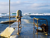 Stock Photos of Newcastle Ocean Baths