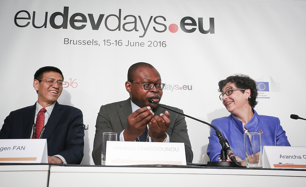 20160615 - Brussels , Belgium - 2016 June 15th - European Development Days - Developments in agricultural trade and the Sustainable Development Goals in African, Caribbean and Pacific countries - Viwanou Gnassounou , Assistant Secretary General , ACP Secretariat © European Union