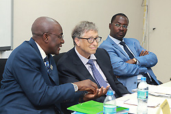August 10, 2017 - Dar es Salaam, Tanzania - Philanthropist BILL GATES announced a 5 million investment to help digitize Tanzania's health information systems and improve health data in the country. Gates congratulated members of the government of Tanzania on leading a drive to incorporate digital health and data into their policy framework. (Credit Image: © Ric Francis via ZUMA Wire)