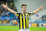 ARNHEM, Vitesse - Roda JC, voetbal, Eredivsie seizoen 2015-2016, 14-08-2015, Stadion De Gelredome, Vitesse speler Nathan de Souza heeft de 3-0 gescoord.