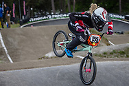 #155 (MECHIELSEN Drew) CAN during round 3 of the 2017 UCI BMX  Supercross World Cup in Zolder, Belgium,