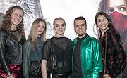 2018, December 04. Pathe ArenA, Amsterdam. Nederlandse premiere van Mortal Engines. Op de foto: The Teenz