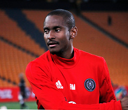 Orlando Pirates assistant coach Rhulani Mokoena in a match between Orlando Pirates  and Cape Town City at  Fnb Stadium on Tuesday September 19, 2017.