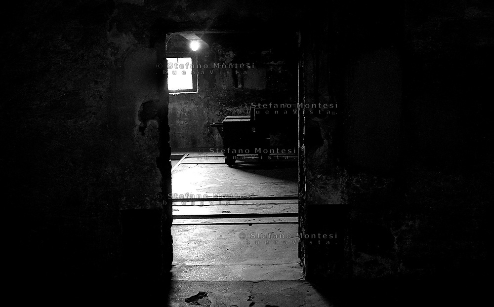 Auschwitz, former Nazi death camp, in Oswiecim, Poland's Nazi-era concentration camp..The crematory oven..