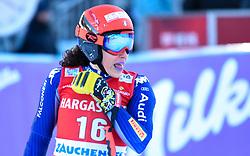 26.10.2019, Keelberloch Rennstrecke, Altenmark, AUT, FIS Weltcup Ski Alpin, Abfahrt, Damen, 2. Training, im Bild Federica Brignone (ITA) // Federica Brignone of Italy reacts after her 2nd training run for the women's Downhill of FIS ski alpine world cup at the Keelberloch Rennstrecke in Altenmark, Austria on 2019/10/26. EXPA Pictures © 2020, PhotoCredit: EXPA/ Erich Spiess