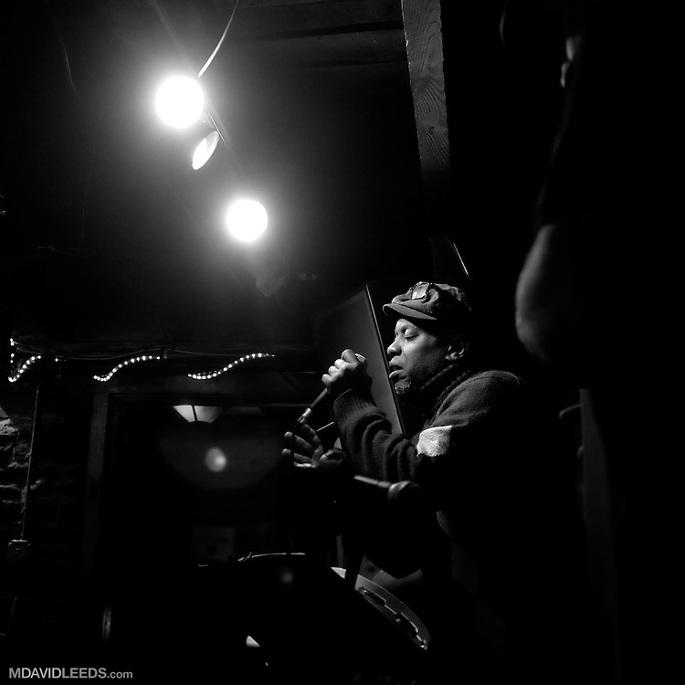 A performance of the Big Ska Band featuring special guest,  vocalist Corey Glover, at the WaterWheel Café, in Milford, PA as seen by photographer M David Leeds.  The Big Ska Band is made up of Joe Ferry, Dan Kottman, Neal Spitzer and Alan Jax Bowers.