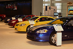 08 February 2007: 2007 Chevrolet SS lineup, in front the Monte Carlo SS. The Chicago Auto Show is a charity event of the Chicago Automobile Trade Association (CATA) and is held annually at McCormick Place in Chicago Illinois.