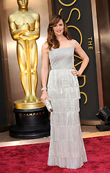 Jennifer Garner arriving to the 2014 Oscars at the Hollywood and Highland Center in Hollywood, California, USA,  Sunday, 2nd March 2014. Picture by Hollywood Bubbles / i-Images<br /> UK ONLY