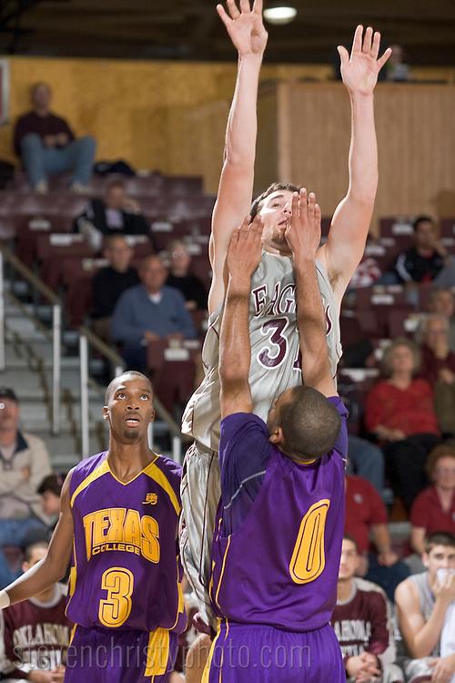 OC Men's Basketball vs Texas College.November 16, 2007.76-65 win