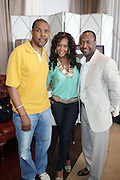 l to r: Eric Lasalle, Vivica Fox, and Jeff Friday at The ABFF Luncheon Hosted by HSBC and Rush Philanthropic Arts held at The Delano in Miami Beach on June 27, 2009..The American Black Film Festival is an industry retreat and competitve marketplace for films and by and about people of color.