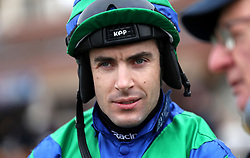 Aidan Coleman during Midlands Raceday at Warwick Racecourse.