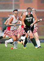 Girls varsity field hockey Laconia versus Kingswood September 7, 2010.