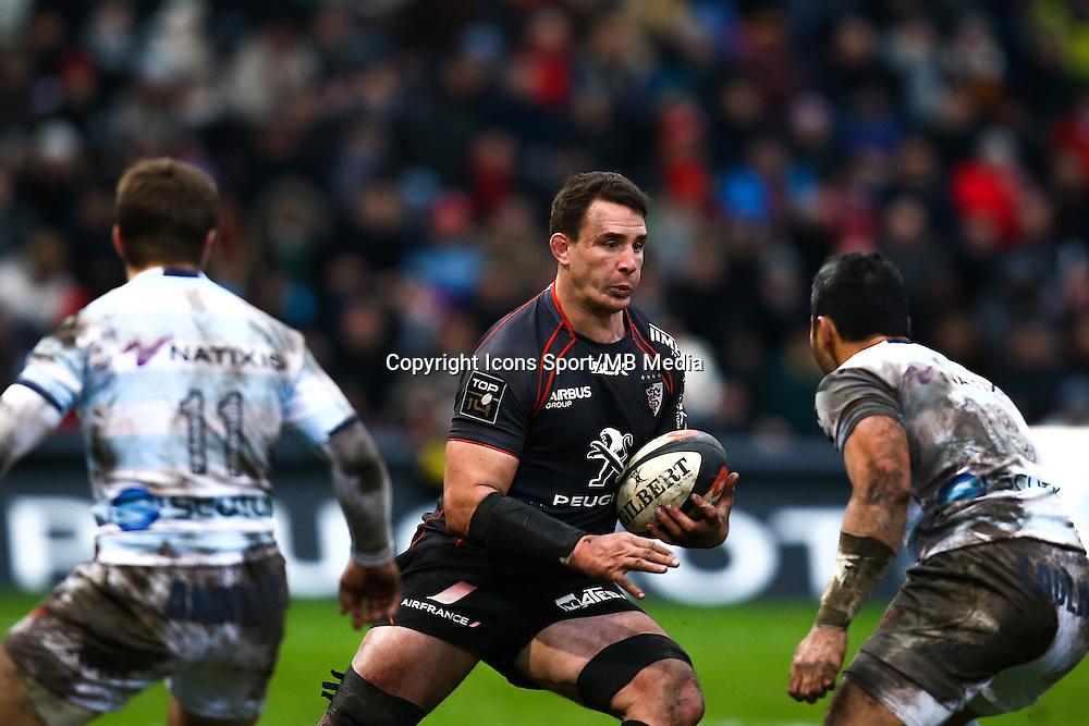 Louis Picamoles - 28.12.2014 - Toulouse / Racing Metro - 14eme journee de Top 14 <br />Photo : Manuel Blondeau / Icon Sport