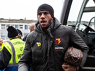 Etienne Capoue of Watford arrives during the FA Cup match at The Den, London<br /> Picture by Liam McAvoy/Focus Images Ltd 07413 543156<br /> 29/01/2017
