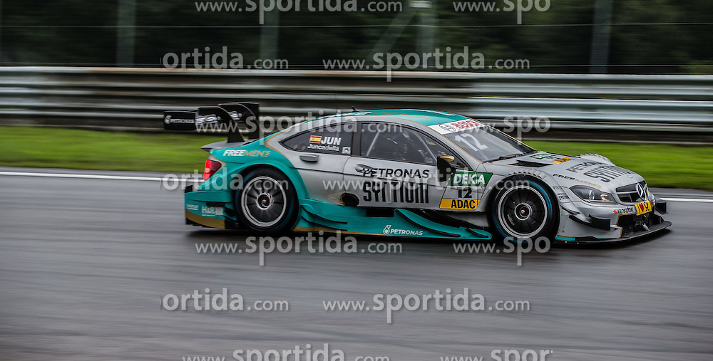 02.08.2015, Red Bull Ring, Spielberg, AUT, DTM Red Bull Ring, Qualifying, im Bild Daniel Juncadella (ESP, Mercedes-AMG C 63 DTM) // during the DTM Championships 2015 at the Red Bull Ring in Spielberg, Austria, 2015/08/02, EXPA Pictures © 2015, PhotoCredit: EXPA/ Dominik Angerer