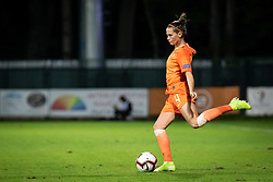 Merel van Dongen of Nederland during football match between Slovenia and Nederland in qualifying Round of Woman's qualifying for EURO 2021, on October 5, 2019 in Mestni stadion Fazanerija, Murska Sobota, Slovenia. Photo by Blaž Weindorfer / Sportida