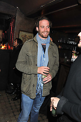 COUNT RICCARDO LANZA at a party to celebrate the opening of the Muzungu Sisters Pop Up Store at Momo - an ethically sourced fashion brand  held at Momo, 25 Heddon Street, London on 27th October 2011.