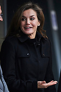 011018 Queen Letizia attends an ordinary meeting of the Fundeu BBVA Advisory Board