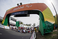 Cycling, Road Race, H3, Start à Rio 2016 Paralympic Games, Brazil