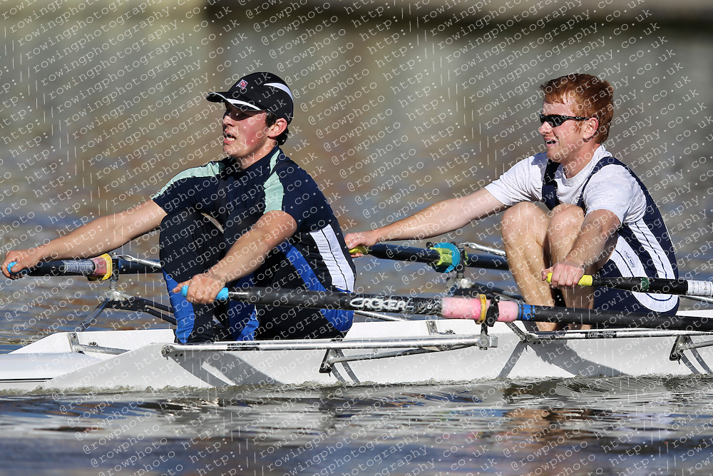 29.09.2012. Wallingford Long Distance Sculls 2012, The River Thames. Division 1. IM1 2x. London Rowing Club. Category Winner.