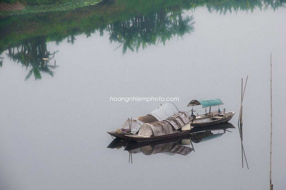 Vietnam Images-Nature-landscape-reflection-Ha Noi phong cảnh việt nam hoàng thế nhiệm