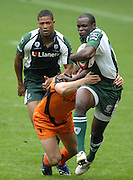 Twickenham, GREAT BRITAIN, Exiles, Topsy OJO, during the Middlesex Sevens Tournament at Twickenham Stadium, on Sat.18.08.2007 [Mandatory Credit. Peter Spurrier/Intersport Images].....