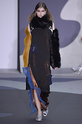 a Model on the Catwalk presents Toga, Autumn Winter 2016, Ready to Wear, London Fashion Week. EXPA Pictures © 2016, PhotoCredit: EXPA/ Photoshot/ Digital Catwalk<br /><br />*****ATTENTION - for AUT, SLO, CRO, SRB, BIH, MAZ only*****