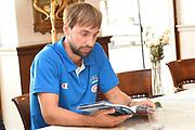 DESCRIZIONE : Trieste Conferenza stampa  Raduno Collegiale  Nazionale Italia Maschile <br /> GIOCATORE : Giuseppe Poeta<br /> CATEGORIA : conferenza stampa <br /> SQUADRA : Nazionale Italiana Uomini <br /> EVENTO :  Conferenza stampa palinsesto SKY<br /> GARA : conferenza stampa<br /> DATA : 06/08/2015 <br /> SPORT : Pallacanestro<br /> AUTORE : Agenzia Ciamillo-Castoria/R.Morgano<br /> Galleria : FIP Nazionali 2015<br /> Fotonotizia : Trieste Conferenza stampa Raduno Collegiale Nazionale Italia Maschile <br /> Predefinita :