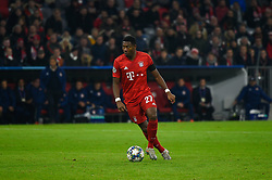 November 6, 2019, Munich, Germany: David Alaba from Bayern seen in action during the UEFA Champions League group B match between Bayern and Olympiacos at Allianz Arena in Munich. (Credit Image: © Bruno De Carvalho/SOPA Images via ZUMA Wire)
