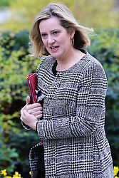 © Licensed to London News Pictures. 26/03/2019. London, UK. Amber Rudd - Secretary of State for Work and Pensions arrives in Downing Street for the weekly Cabinet meeting. Photo credit: Dinendra Haria/LNP
