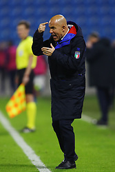 LUIGI DI BIAGIO (ITALY'S TRAINER)<br /> Football friendly match Italy vs England u21<br /> Ferrara Italy November 15, 2018<br /> Photo by Filippo Rubin