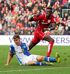 Tammy Abraham of Bristol City looks on - Rogan Thomson/JMP - 22/10/2016 - FOOTBALL - Ashton Gate Stadium - Bristol, England - Bristol City v Blackburn Rovers - Sky Bet EFL Championship.