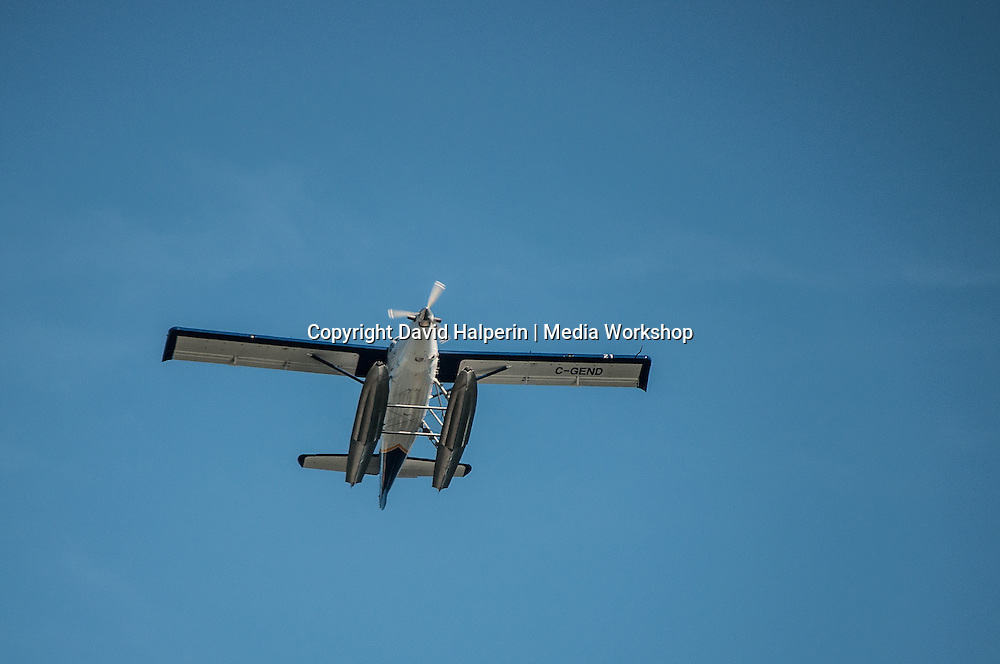 Seaplane overhead