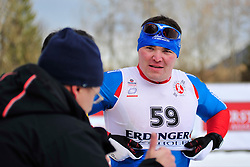 ZARIPOV Irek. RUS at the 2014 IPC Nordic Skiing World Cup Finals - Middle Distance