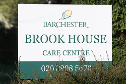 © Licensed to London News Pictures. 16/04/2020. London, UK. A view of Barchester elderly residential care home in Wembley, North-West London. Amid criticism that care homes were being ignored during the outbreak, Health Secretary Matt Hancock announced during Wednesday's Downing Street daily press briefing that from Wednesday all care home residents coming back from hospital will be tested before being admitted to the care home. Photo credit: Ray Tang/LNP