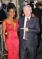 © Licensed to London News Pictures. 26/03/2014, UK. JJ Sinitta; Louis Walsh, I Can't Sing! The X Factor Musical - press night, London Palladium, London UK, 26 March 2014. Photo credit : Richard Goldschmidt/Piqtured/LNP