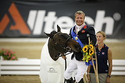 Lee Pearson (GBR) and Gentleman winning the gold medal in grade 1B<br /> Alltech FEI World Equestrian Games <br /> Lexington - Kentucky 2010<br /> © Dirk Caremans