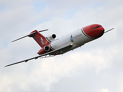 Boeing 727, 1963, The Duxford Air Show, 14th September 2014