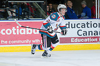 KELOWNA, CANADA - JANUARY 11:  Jesse Lees #2 of the Kelowna Rockets skates on the ice against the Tri City Americans at the Kelowna Rockets on January 11, 2013 at Prospera Place in Kelowna, British Columbia, Canada (Photo by Marissa Baecker/Shoot the Breeze) *** Local Caption ***