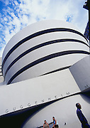 Image of the Solomon R. Guggenheim Museum in New York City, New York